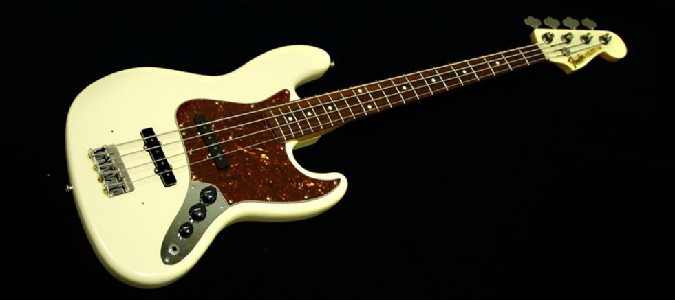 Fender - Jazz Bass(66年)