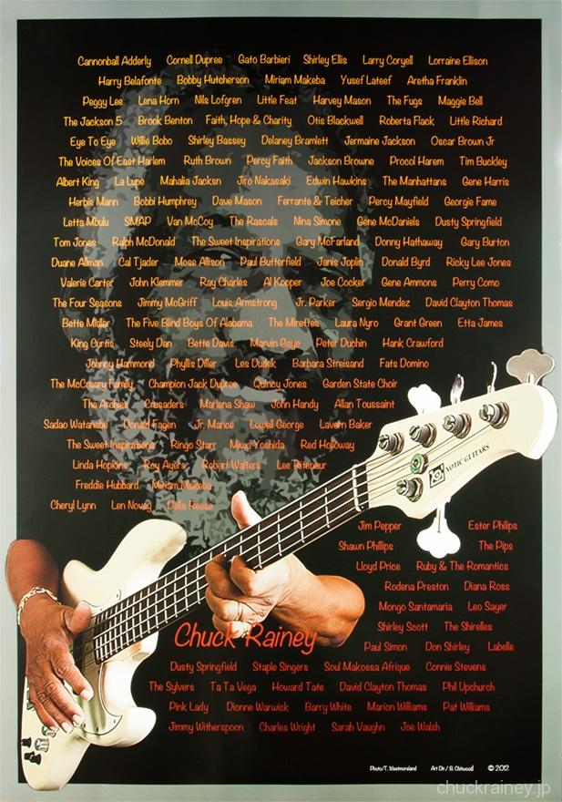 CHUCK RAINEY Artist poster_P001