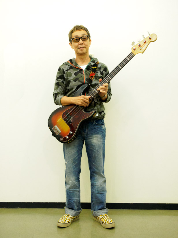 Fender Precision Bassと小原氏