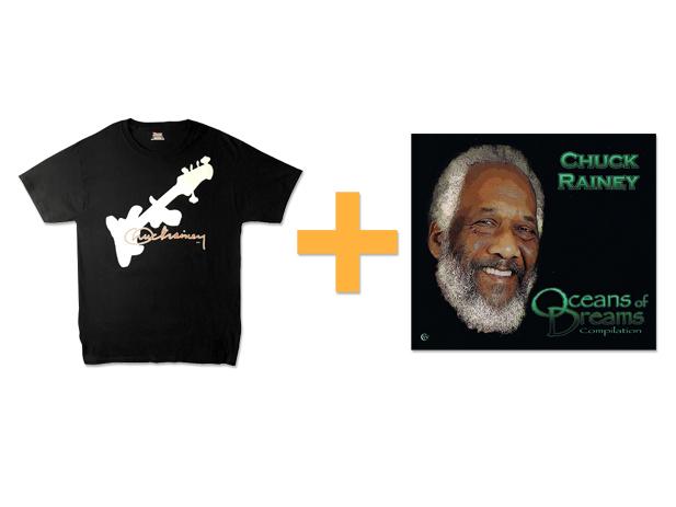 Tシャツ + CD(Oceans of Dreams)セット販売